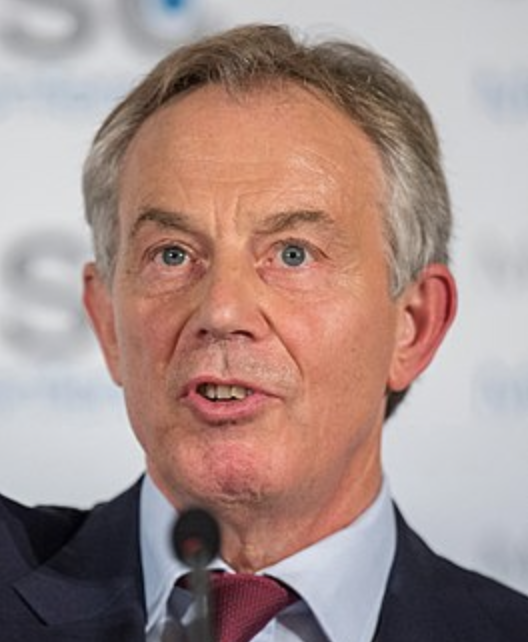 Tony blair mediator